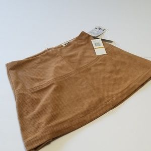 Jolt Skirts - NWT JOLT - FAUX SUEDE MINI SKIRT size 3